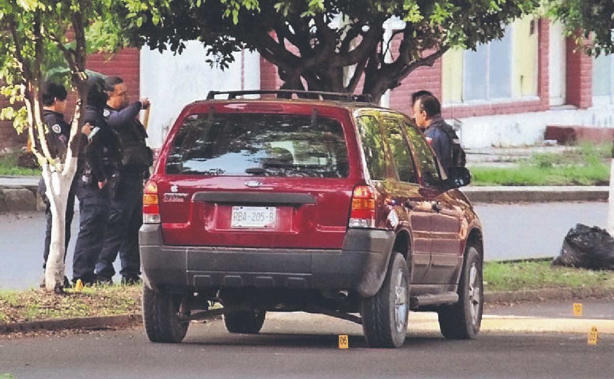 Tirotean a policía del Mando Único de Jiutepec, sicarios chocaron al huir