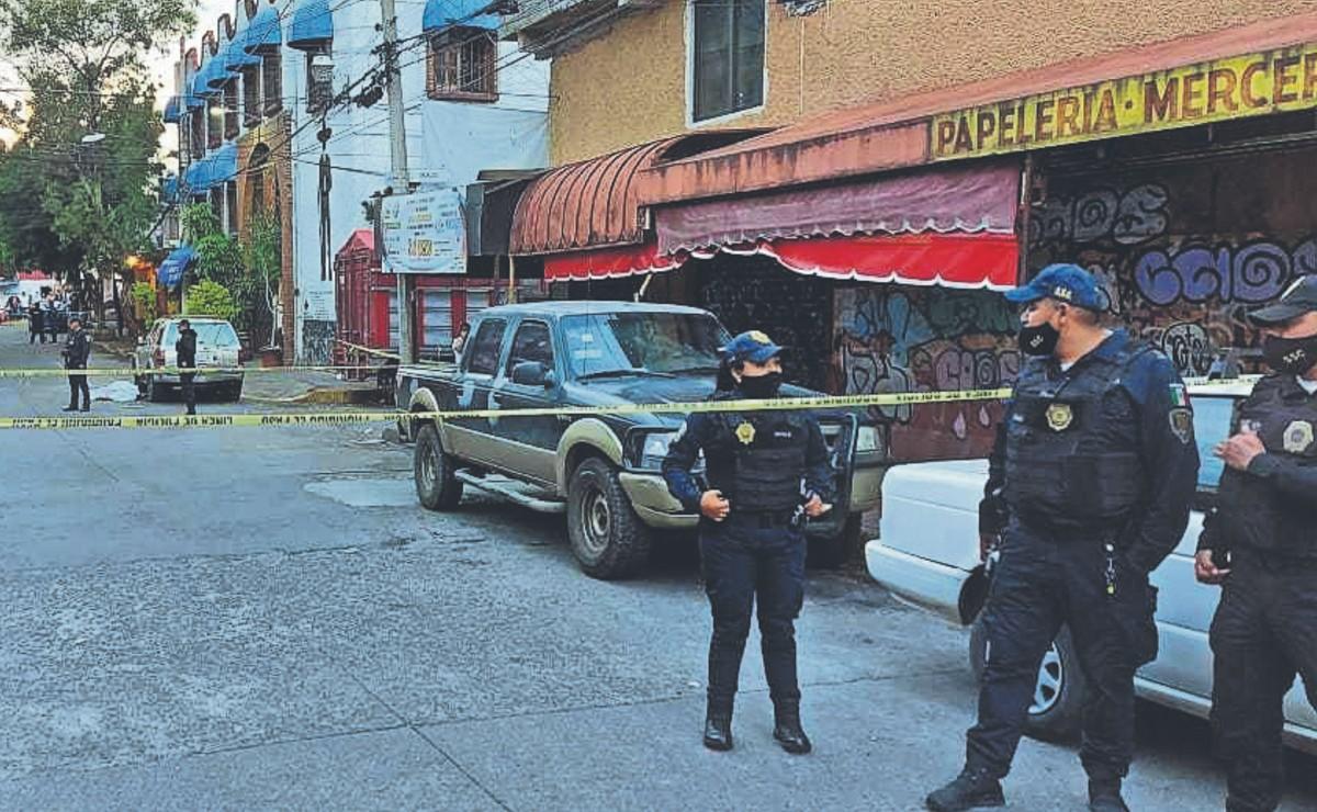 Detienen a 10 por balacera que dejó un muerto el fin semana en Coyoacán, CDMX