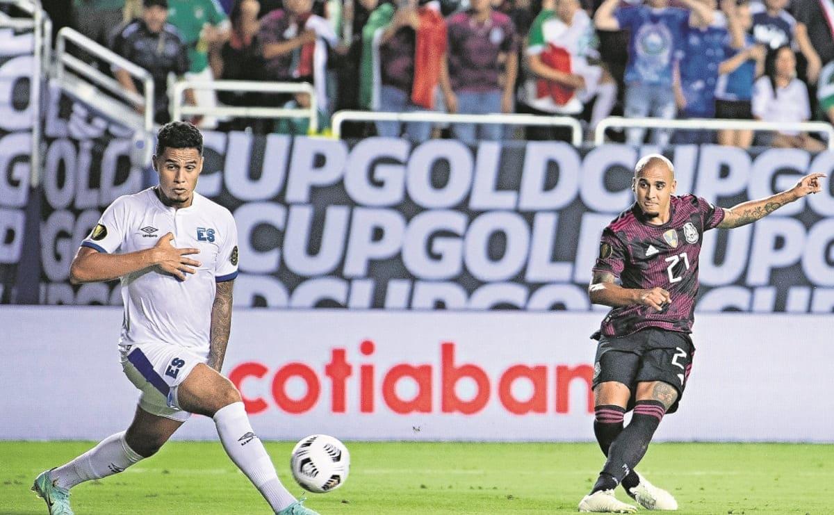 México avanzó a cuartos de final como líder tras vencer al Salvador, en la Copa Oro
