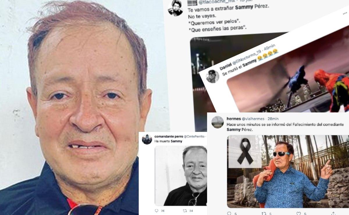 Tuiteros viralizan presunta muerte de Sammy Pérez y su familia lanza este mensaje