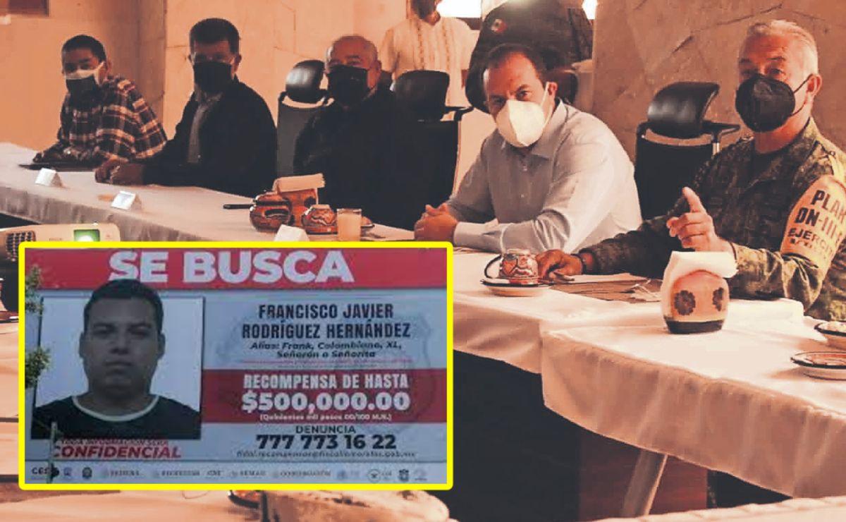 """Población aporta datos para captura de """"El Señorón"""", el delincuente más buscado en Morelos"""
