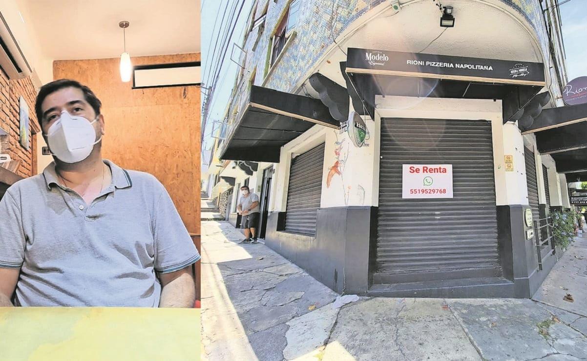 Cierran pizzería del Centro en Cuernavaca, dueños acusan extorsión