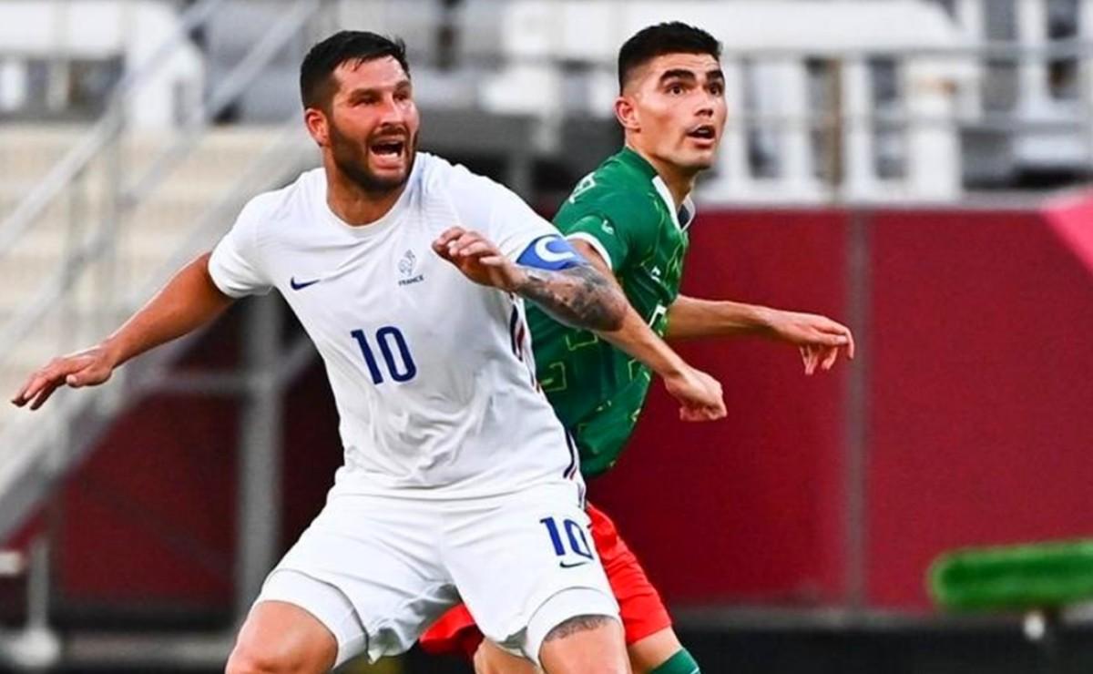Gignac acepta que Francia debe mejorar tras derrota ante México, en Tokio 2020