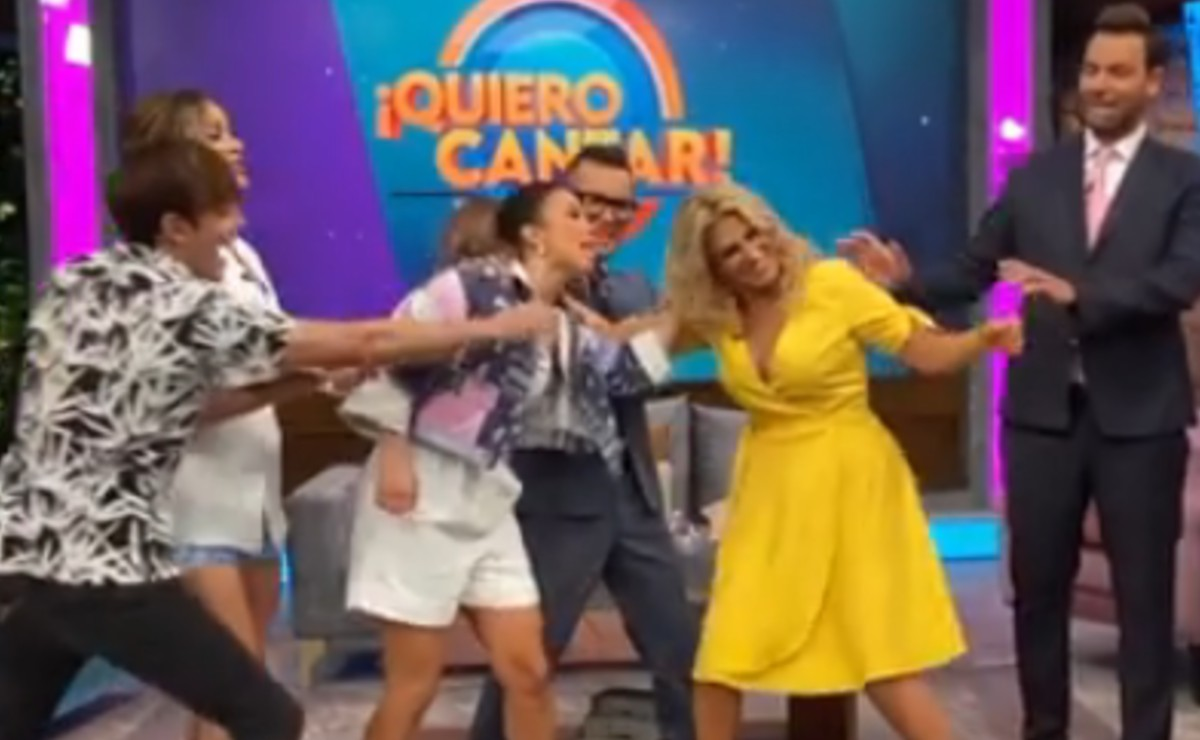 "Laura G y Anette Cuburu se jalan de los pelos en pleno programa de ""Venga la Alegría"""