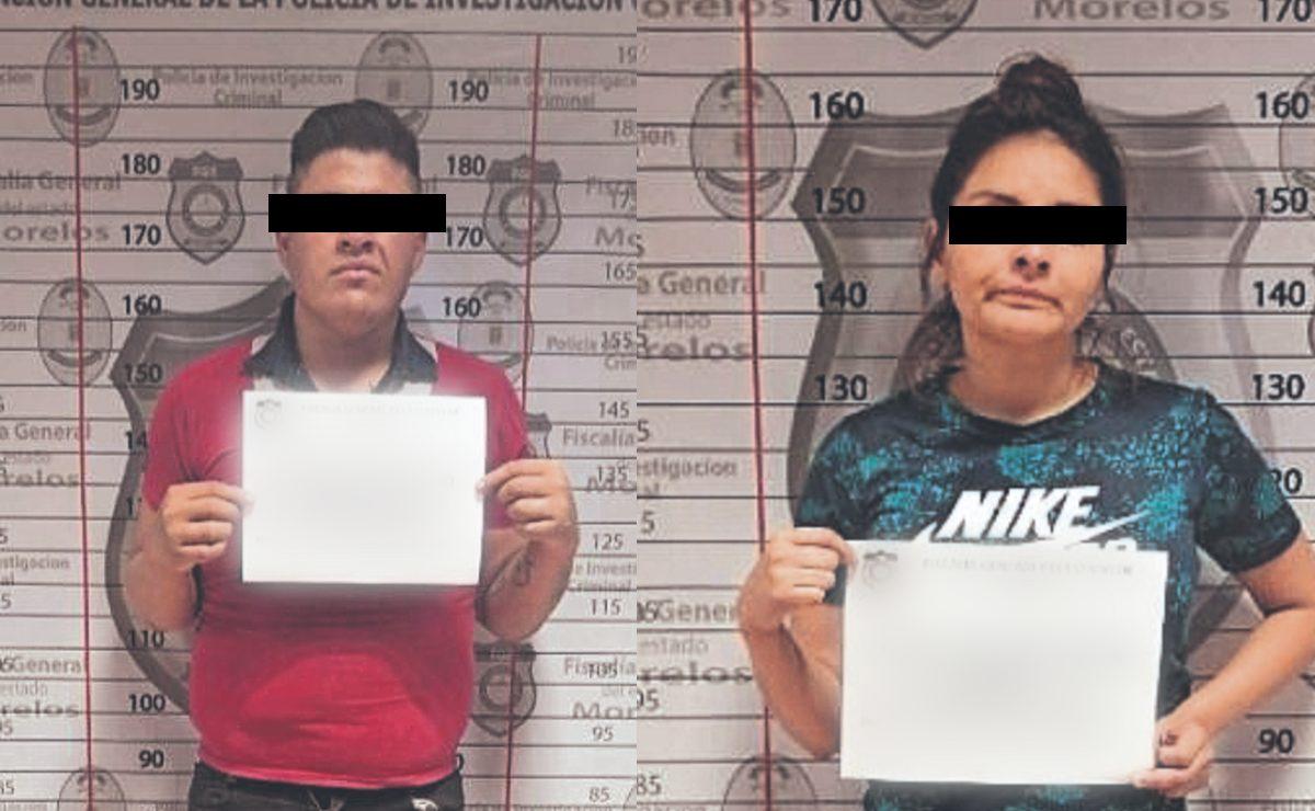 """Atoran a """"El Gordo"""" y a la Jazivi Lisbeth cuando regalaban droga en Morelos"""