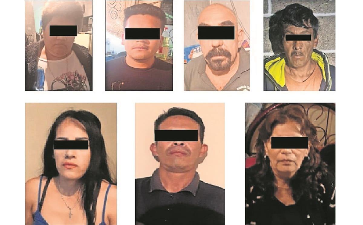 En cuatro cateos simultáneos en Iztapalapa, caen siete narcomenudistas