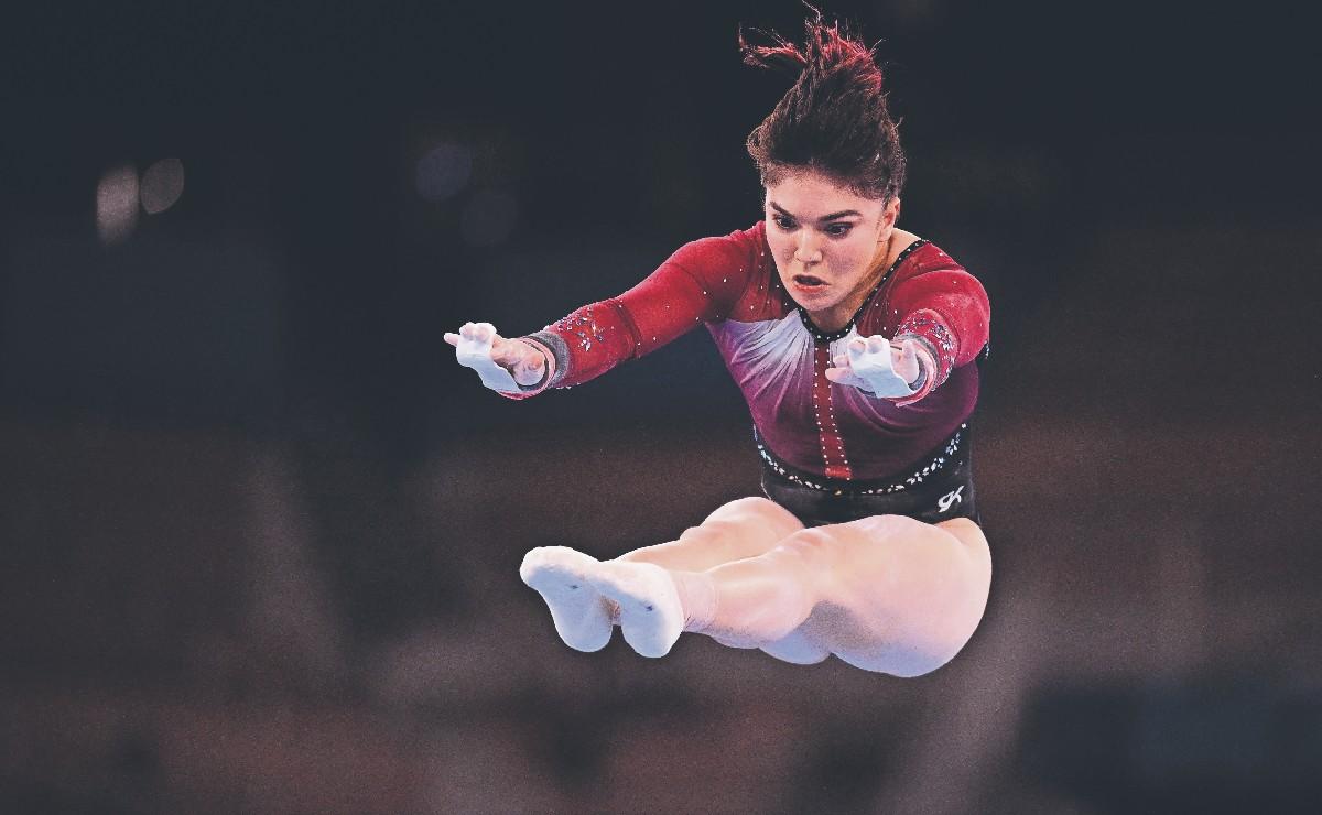 Alexa Moreno, primera finalista mexicana en gimnasia en 20 años