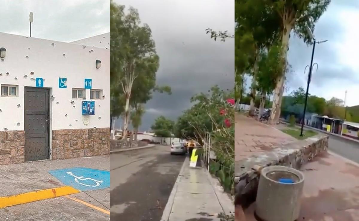 Testigos revelan videos de aterradora balacera en Magdalena de Kino, Sonora; cancelan vacunación