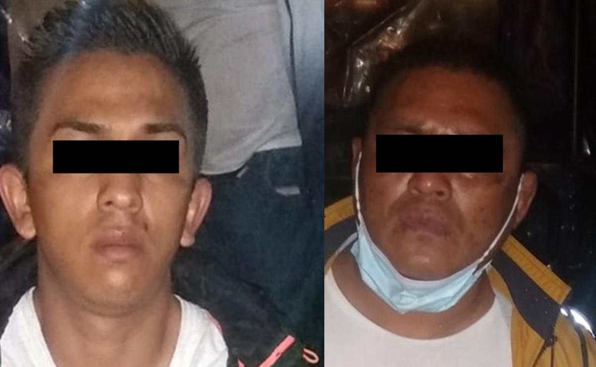 Atoran a dos asaltantes de transporte público en Tlalpan, uno tiene 8 ingresos a la cárcel