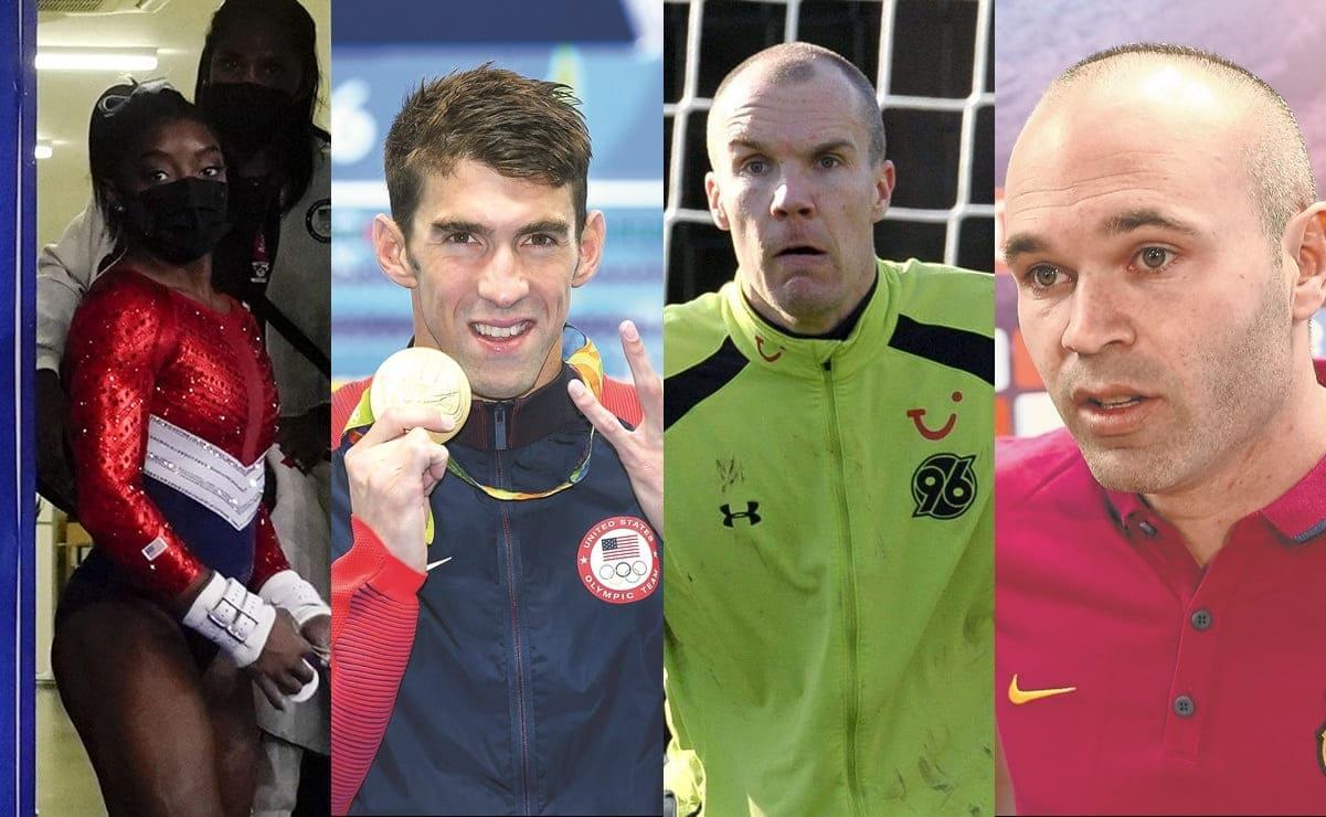 Las grandes estrellas del deporte que han sufrido problemas de salud mental