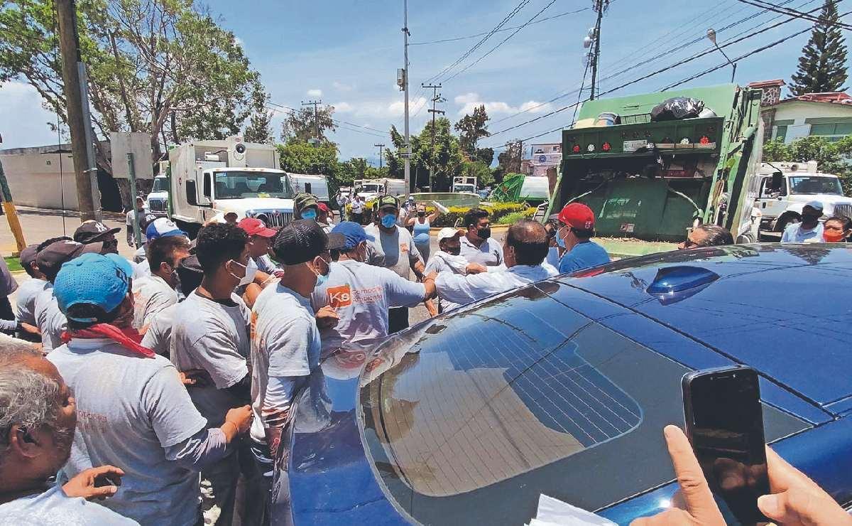 Tras pelea callejera entre vecinos y recolectores de basura en Cuerna, lesionados denuncian