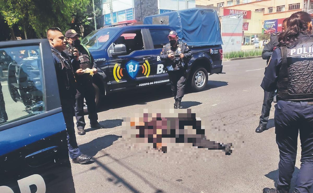 Asaltantes dejan reguero de sangre en dos alcaldías de la Ciudad de México