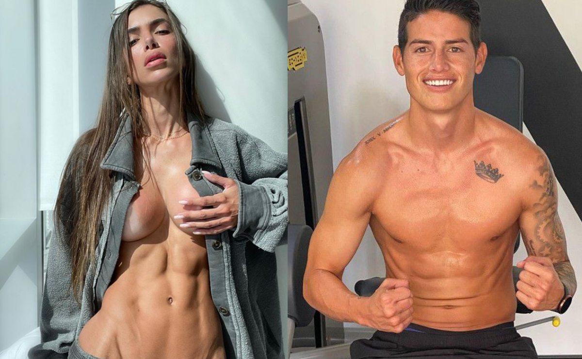 Supuesta novia del futbolista James Rodríguez explota su sensualidad y triunfa en OnlyFans