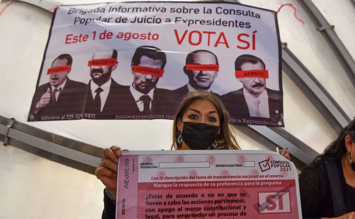 Casillas, horarios y la pregunta completa de la primera consulta popular en México