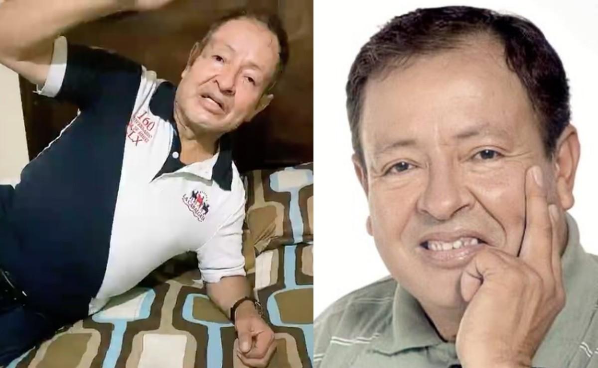 Muere el comediante Sammy Pérez de un infarto, estaba intubado por Covid