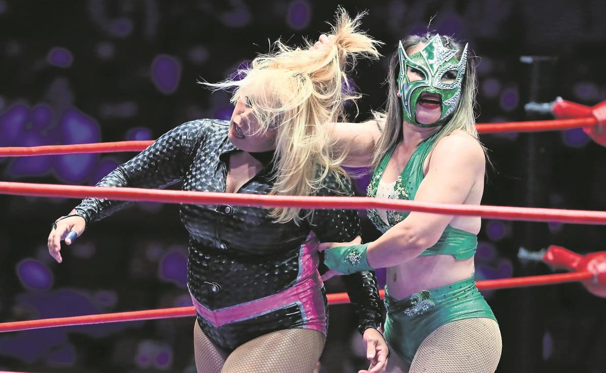 Lluvia y La Jarochita salieron avantes ante las rudas, para continuar reinando en el CMLL