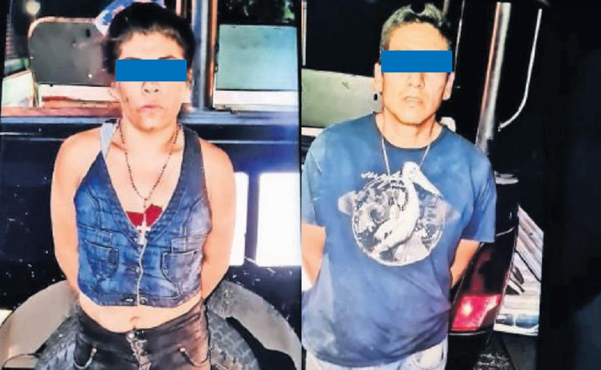 Pareja roba taxi, huye y la policía los atrapa por el geolocalizador del carro en Morelos