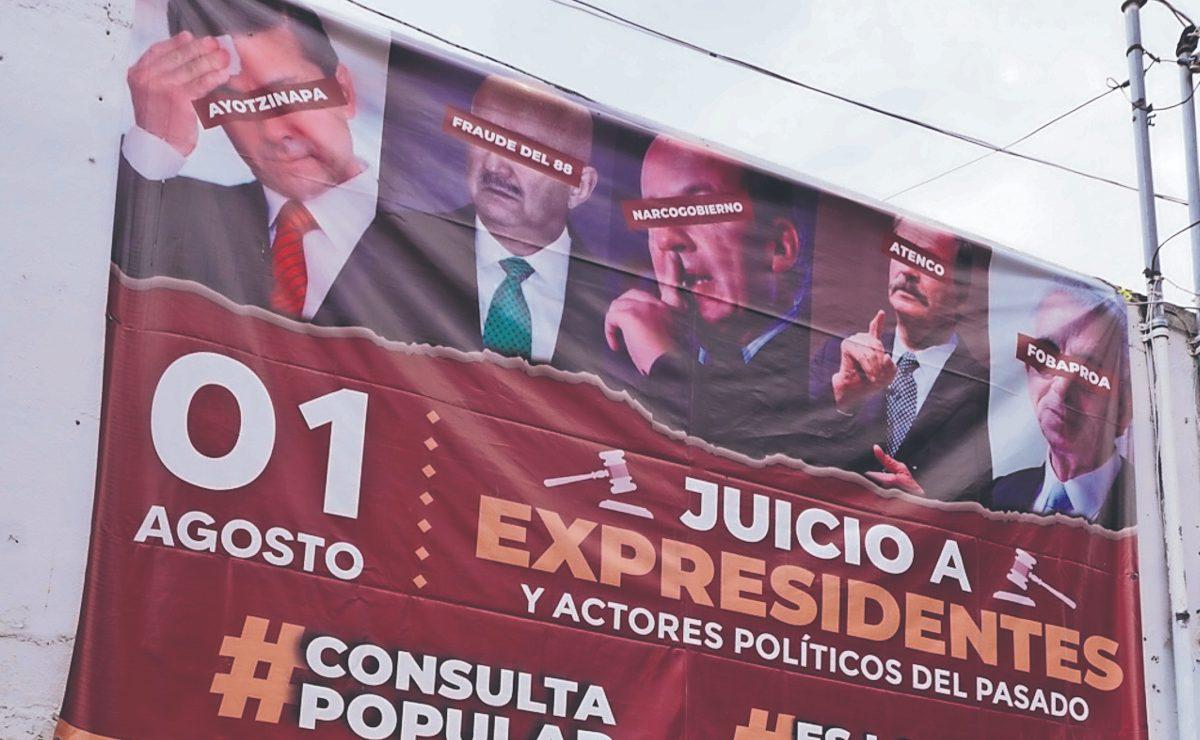 AMLO y Sheinbaum culpan al INE por fracaso de la consulta para enjuiciar a expresidentes