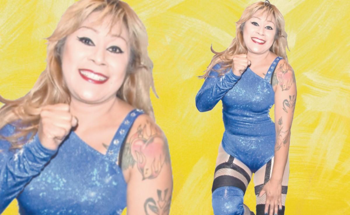 Forjada al estilo clásico, La Seductora se mantiene vigente en la lucha libre profesional