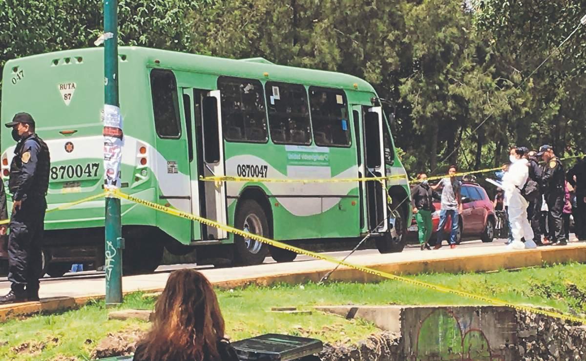 Sicario se hace pasar por pasajero para asesinar a Brayan en CDMX, era chofer de la unidad