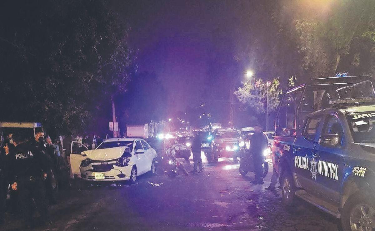 Atropellan a motociclista y 'vuela' hacia otro automóvil en Ecatepec, murió en segundos