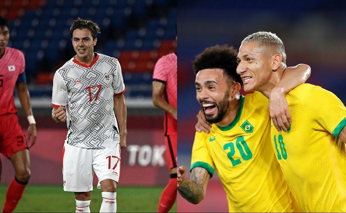 México vs Brasil, horario y dónde ver la semifinal de futbol de Juegos Olímpicos Tokio 2020