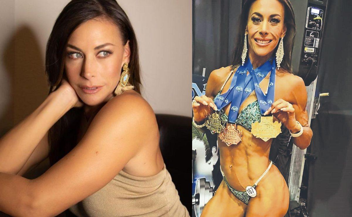 Vanessa Guzmán silencia las críticas por su cuerpo y gana 3 medallas en fisicoculturismo