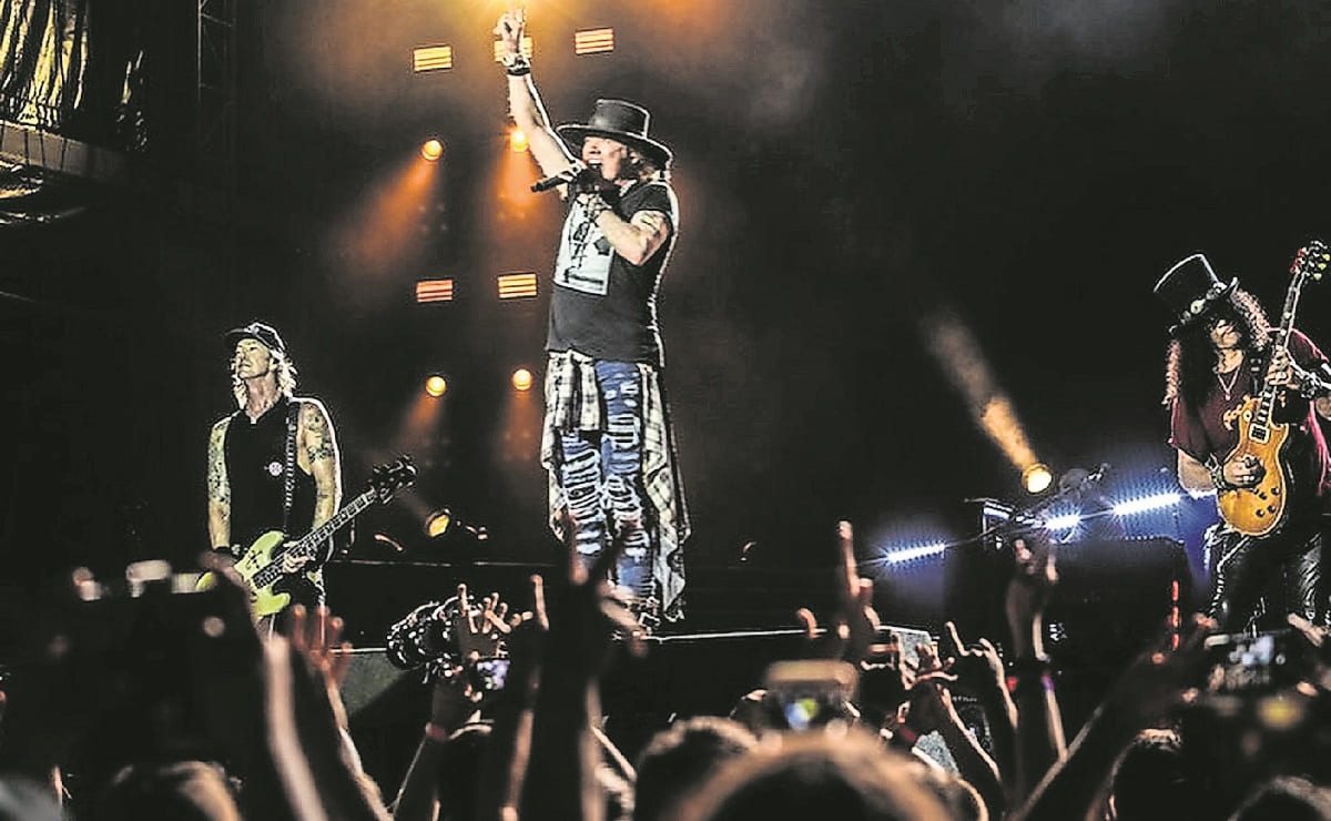 Confirman concierto de Guns N' Roses en Monterrey, aunque con un aforo limitado