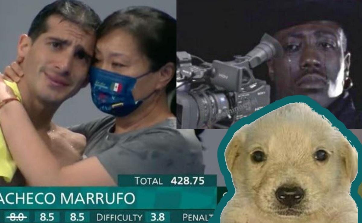 Entre lágrimas, Rommel Pacheco finaliza su carrera en Tokio 2020 y lo despiden con memes