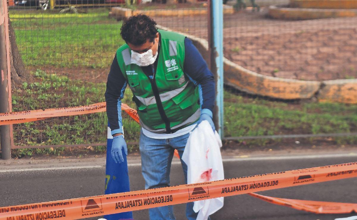 Muere atropellada una doñita que regresaba del mandado, vendía comida en Iztapalapa