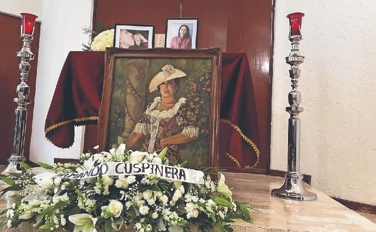 Despiden con sencillo funeral en Cuernavaca a la primera actriz, Liliana Aragón