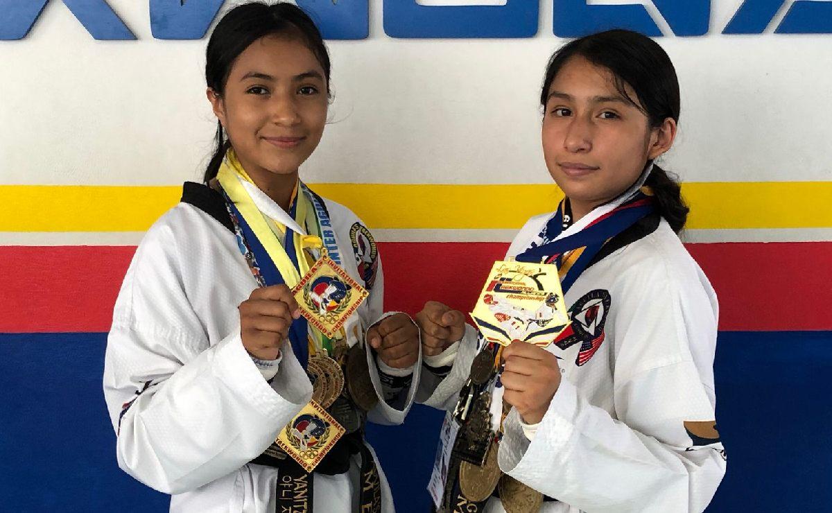 ¡Yanitza y Yurel te necesitan! Buscan recursos para ir al mundial de Taekwondo en Serbia