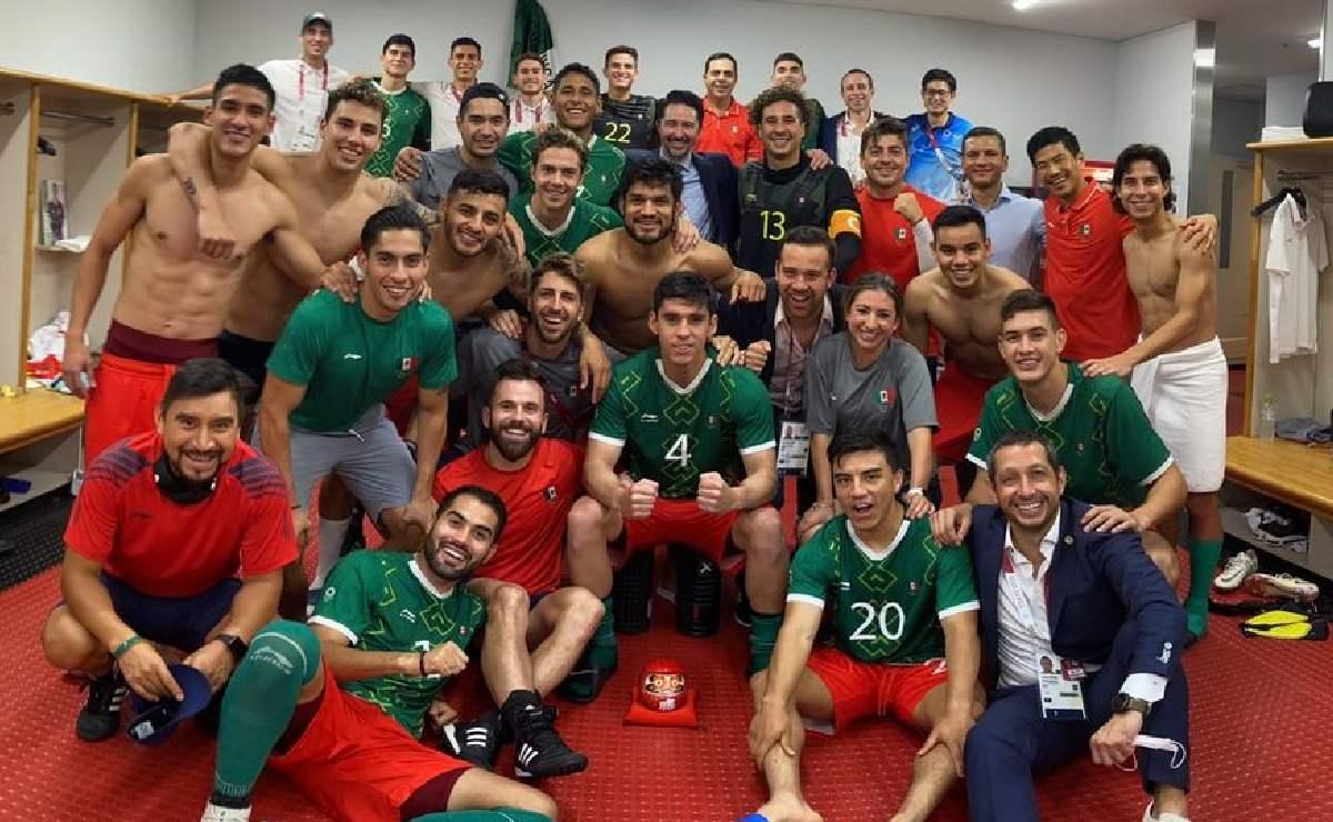 Selección Mexicana se queda con la medalla de bronce en Juegos Olímpicos, afición no fue al Ángel