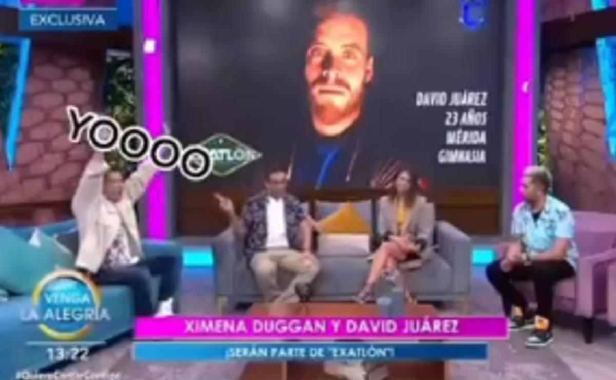 """William Valdés cae en tremendo albur de """"El Capi"""" en pleno programa de Venga la Alegría"""