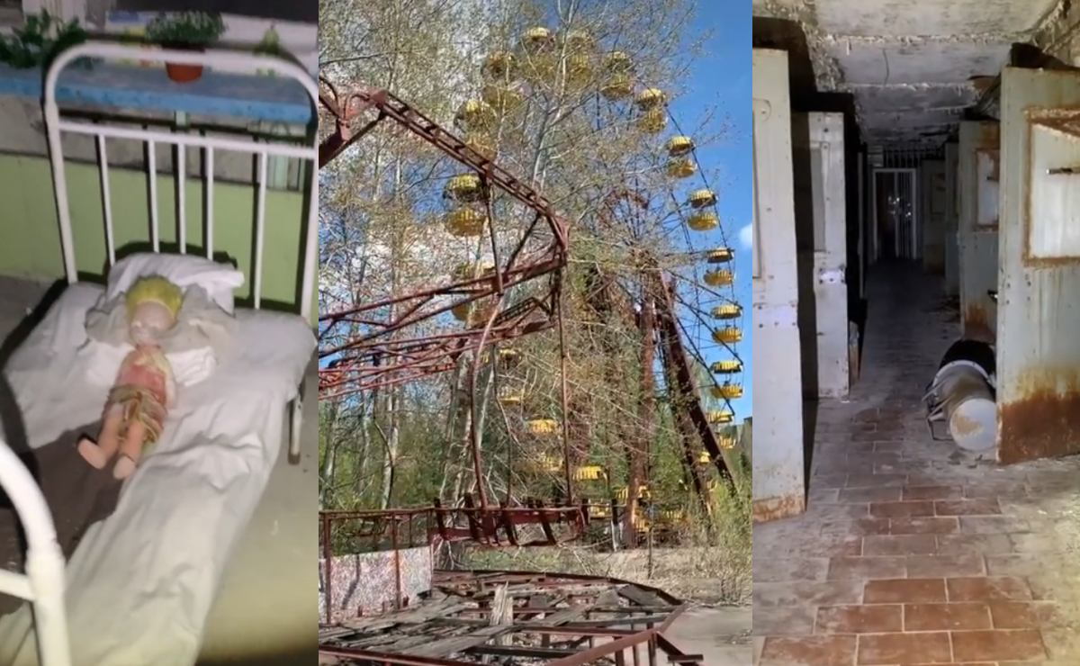 Cuenta de TikTok muestra aterradores videos de lo que quedó de Chernobyl