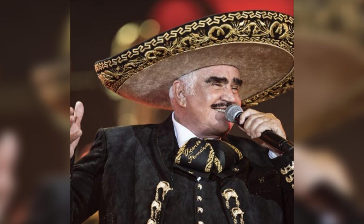 Familia de Vicente Fernández reporta que está en terapia intensiva, envía duro mensaje a fans