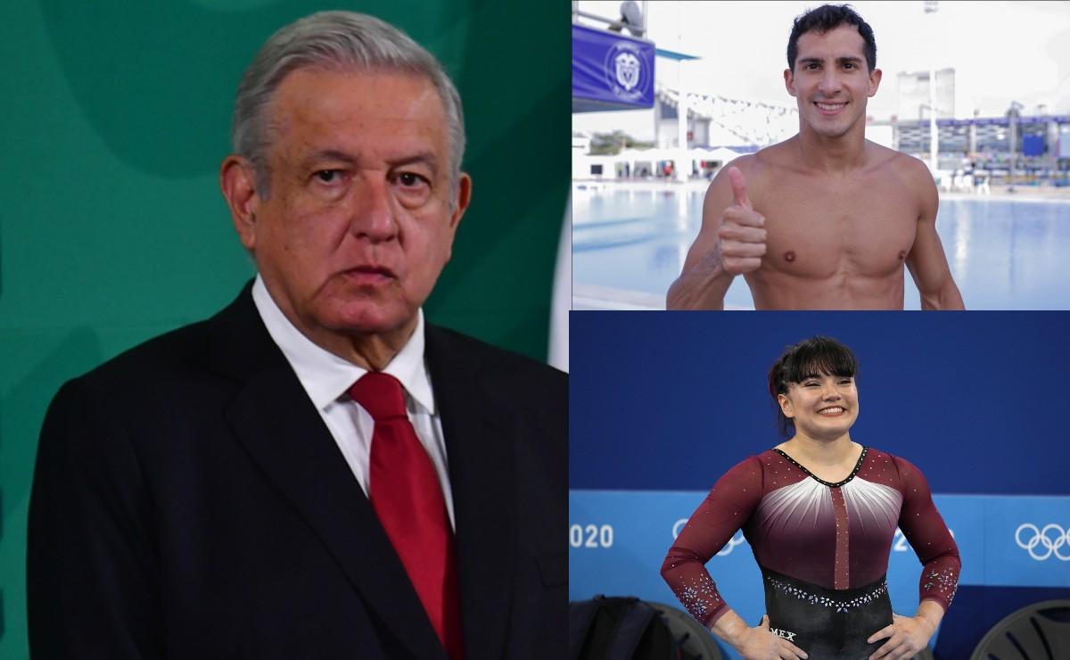 """""""Los que hacemos deporte sabemos, no es ganar siempre"""", dice AMLO tras fracaso en Tokio 2020"""