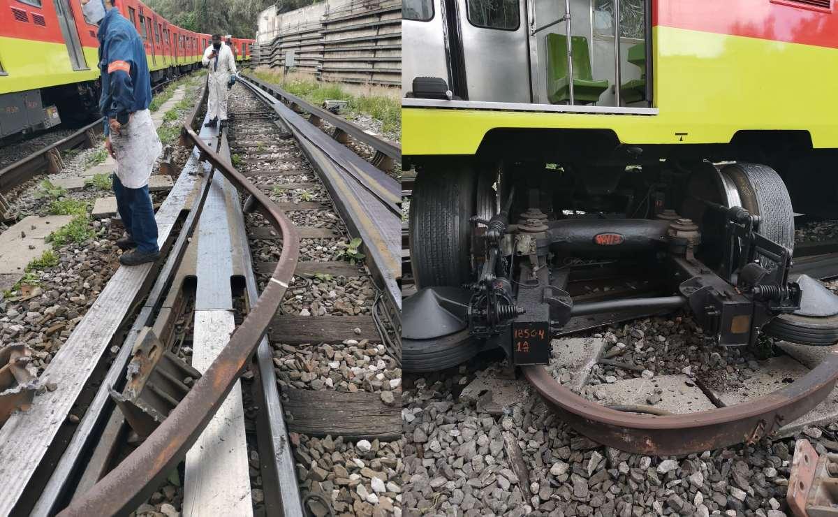 Vagón del Metro CDMX de la Línea 3 se desarma cuando estaba a punto de dar servicio