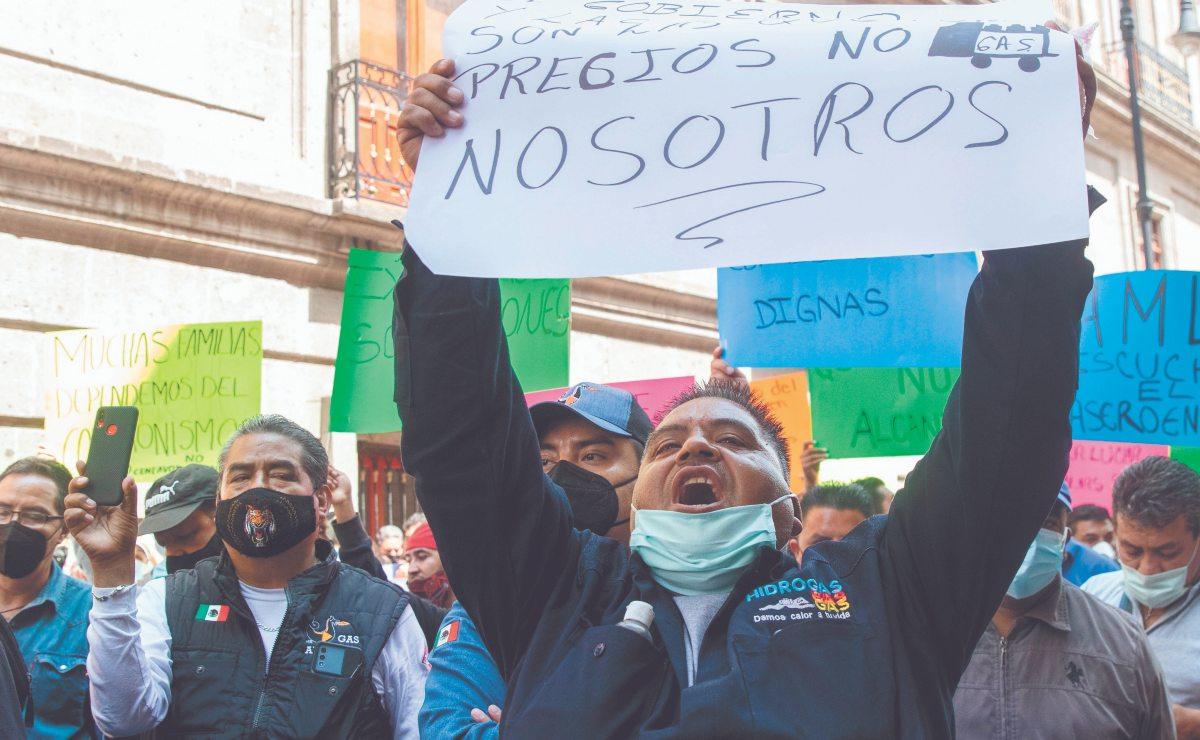 Gaseros amenazan con paro nacional al Gobierno, contra nuevos precios y Gas Bienestar