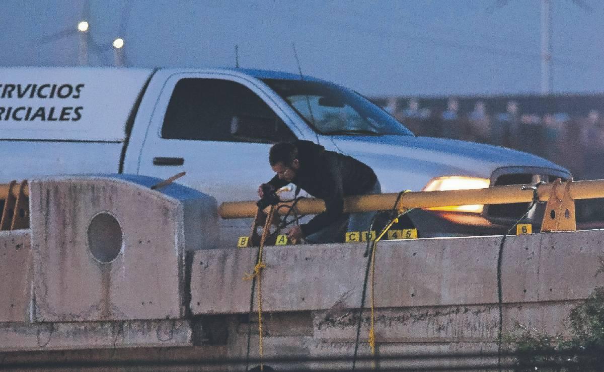 Así dejaron colgados a seis hombres desnudos en puente de Zacatecas