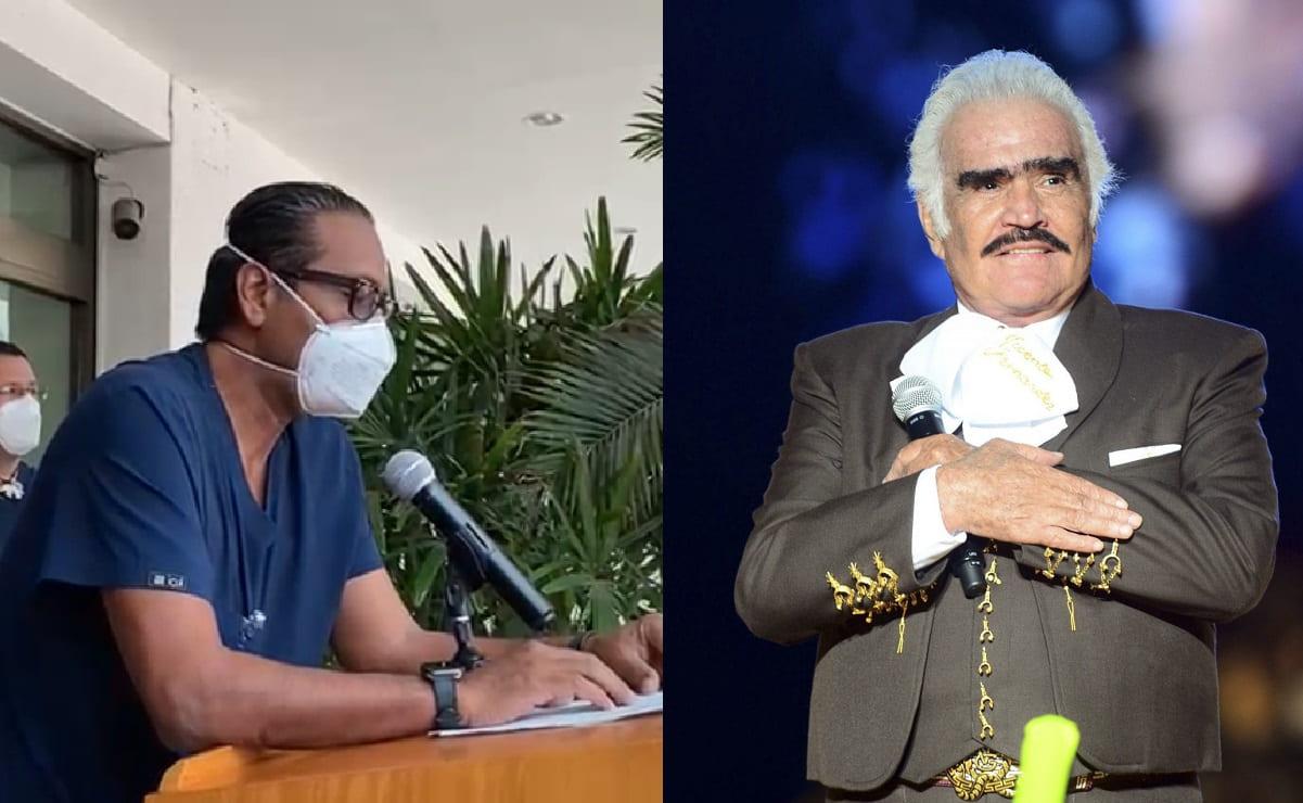 Médico revela lo que le pasó a Vicente Fernández y cómo sigue de salud, desde hospital de Guadalajara