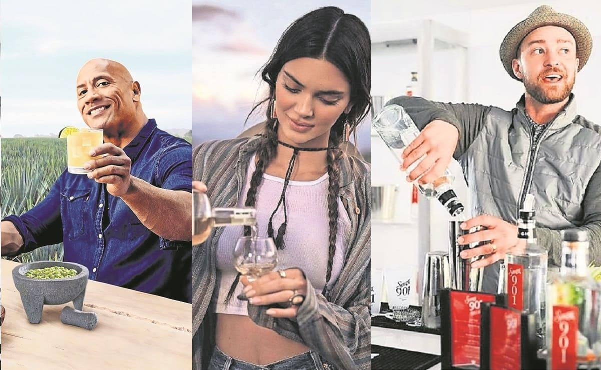 Famosos de talla internacional crean sus propias marcas de mezcal y tequila con gran éxito