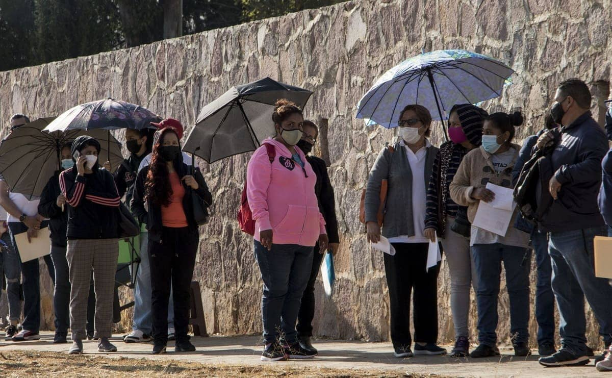 Vacunación en Jiutepec para 18 a 29 años fue todo un éxito, también llegaron rezagados