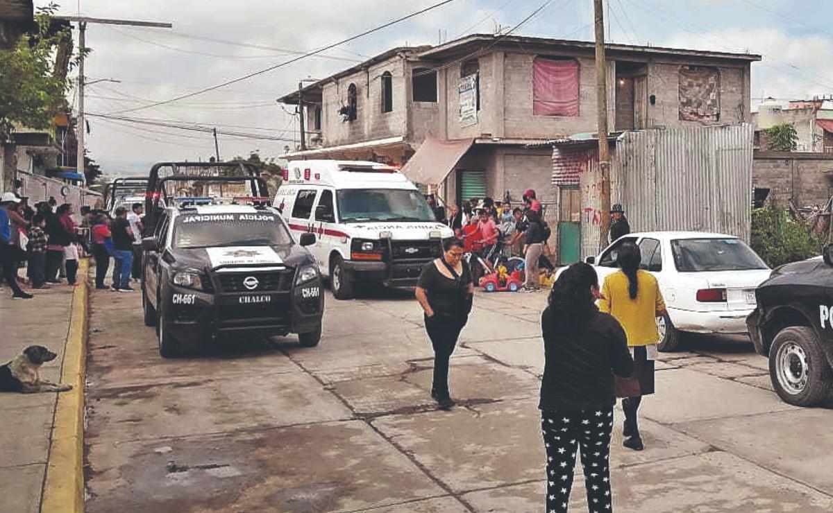 Rateros hieren de bala a un hombre durante un intento de asalto, en Edomex