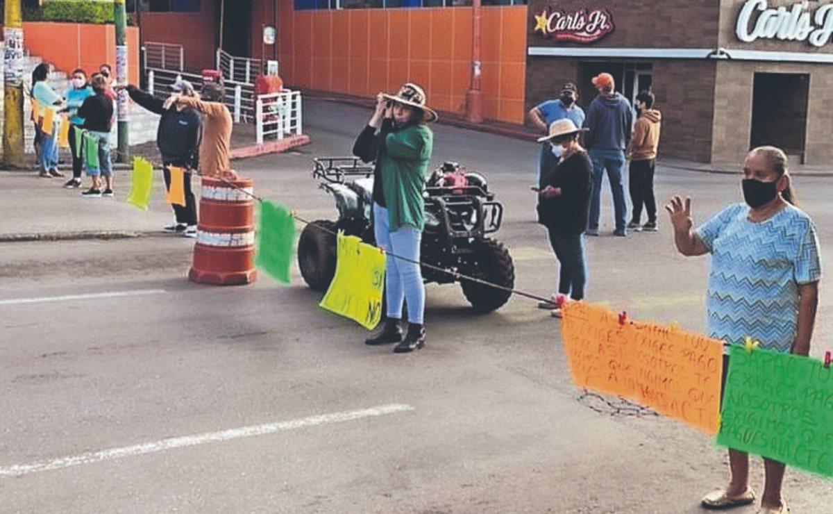 Tras una semana de protestas, vecinos de Cuernavaca siguen sin agua