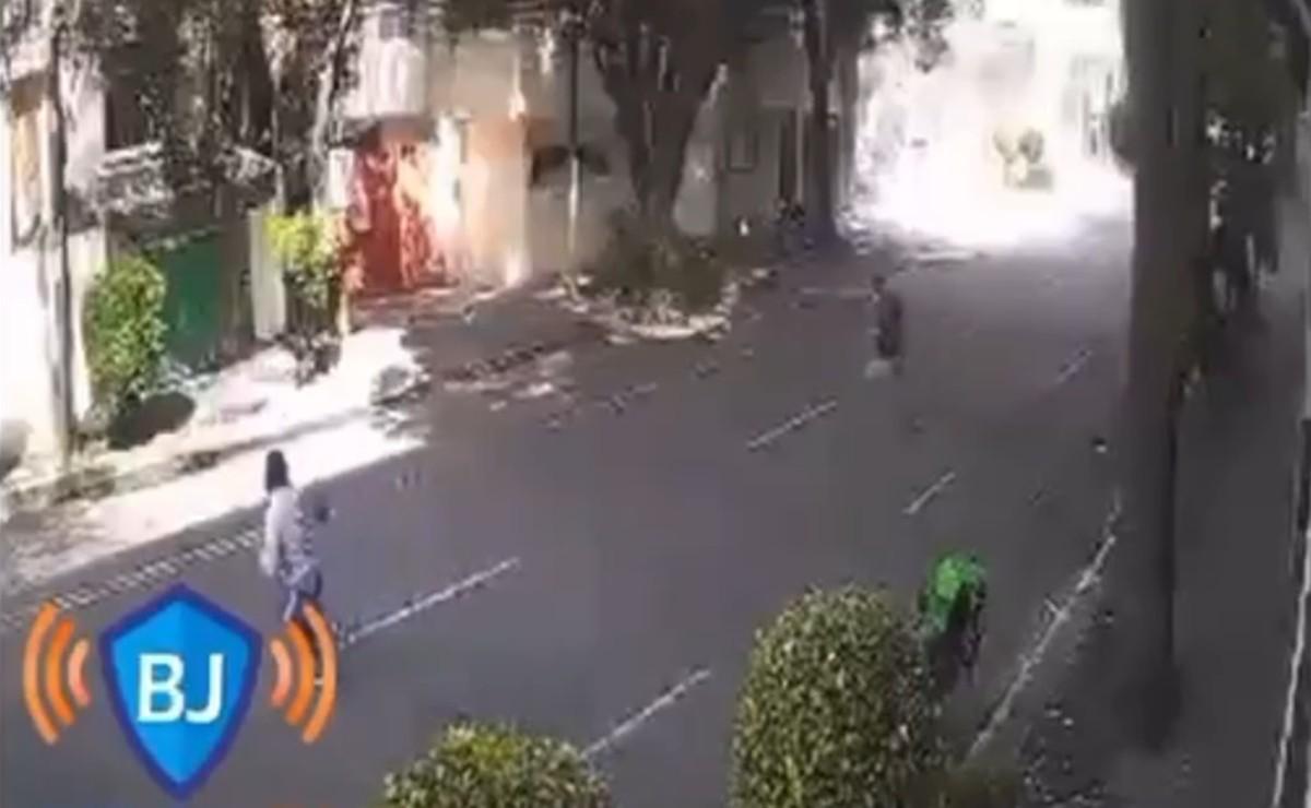 Video capta momento de explosión de edificio en Benito Juárez, muere una de las víctimas