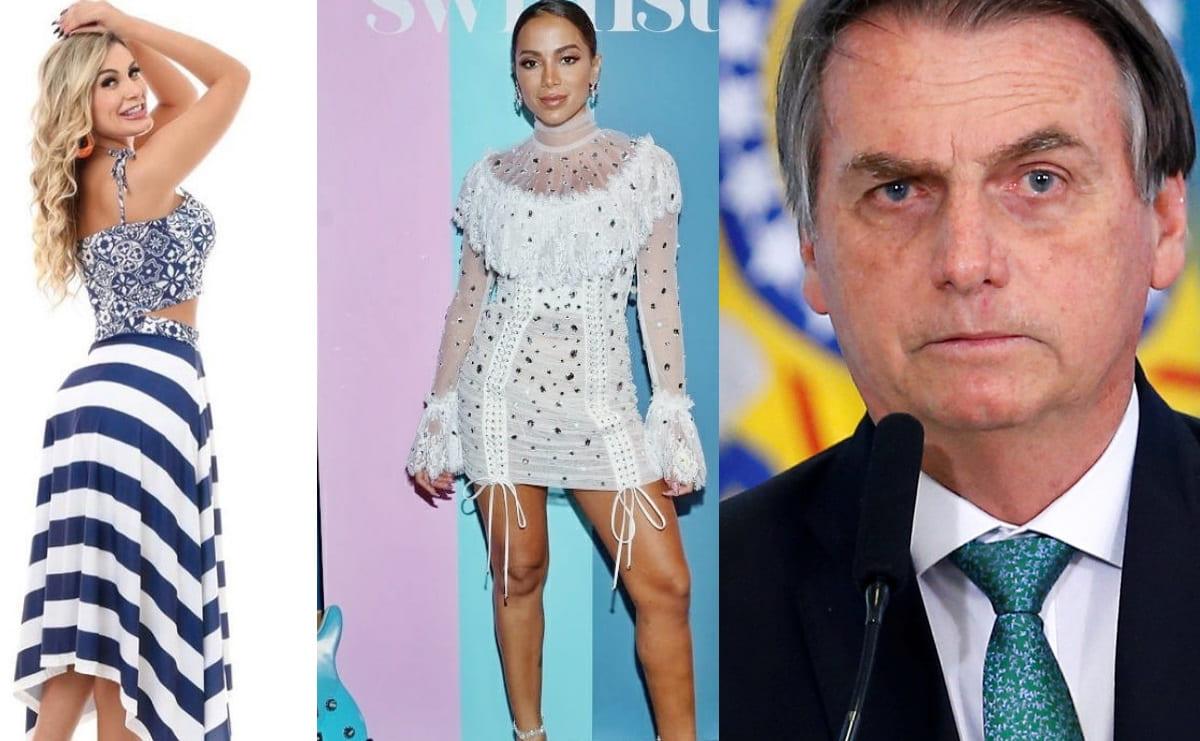 Modelo brasileña se lanza contra Anitta por criticar el desfile militar de Jair Bolsonaro
