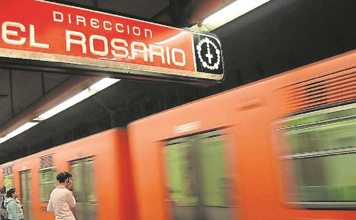 Abuelita muere en el Metro de la CDMX, tras quedar atorada del pie en la estación Rosario