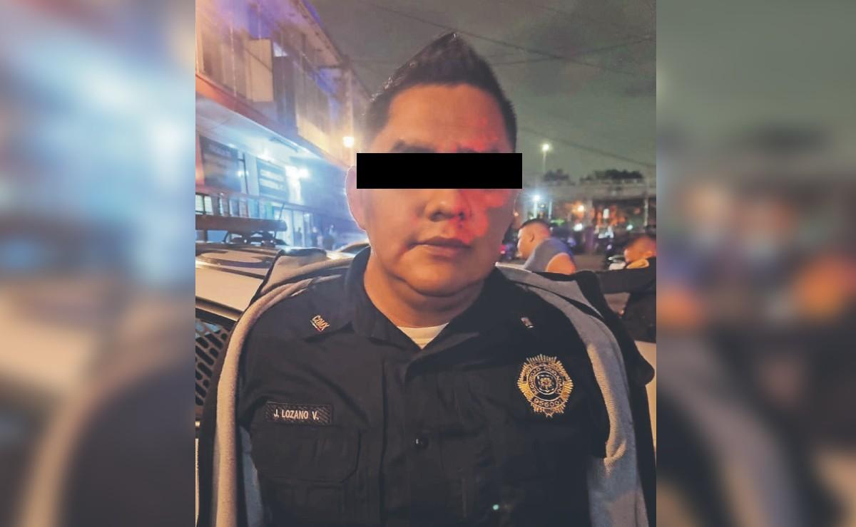 Detienen a policía de la Ciudad de México por intentar sobornar a sus colegas