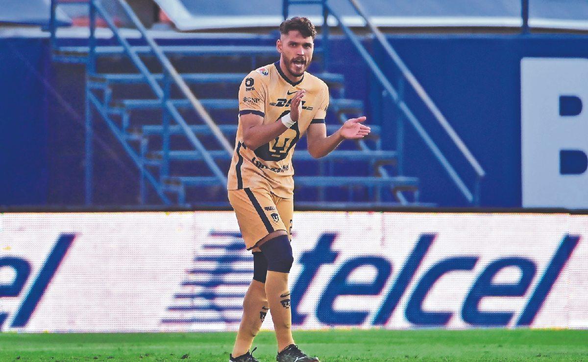 """""""No veo crisis, veo malos resultados"""", dice jugador de Pumas ante hundimiento"""
